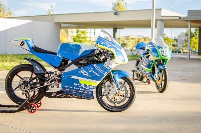Motostudent Unizar expone su moto eléctrica en INTU Puerto Venecia
