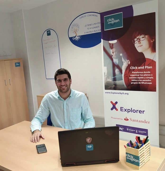 Sergio Escanilla es el creador de esta app de planes de ocio en Aragón.