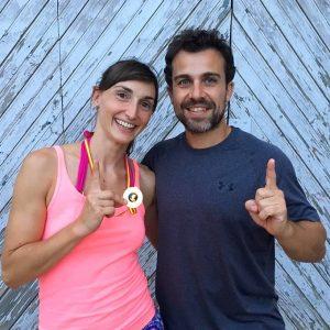 Raquel conquistó la medalla de bronce en el mundial de Montreal de pole dance.