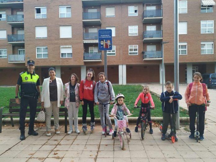Calatayud gana un premio nacional por el proyecto Caminos Escolares Seguros