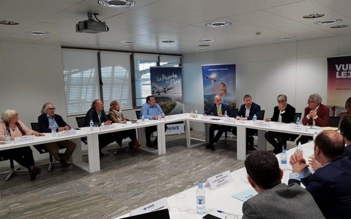 La Mesa de la Conectividad Aérea celebrada en el Aeropuerto de Zaragoza ha analizado nuevas rutas aéreas