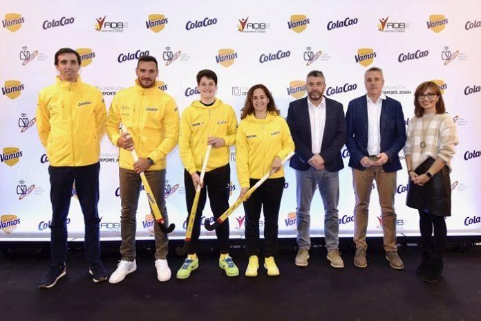 Moisés Cantín ha recibido una beca para impulsar el hockey.