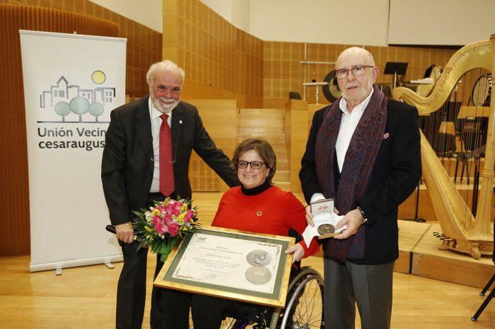 La DFA ha recibido el Premio Unión Vecinal Cesaraugusta.