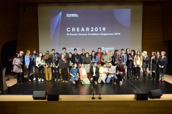 Ganadores del Premio CREAR 2019.