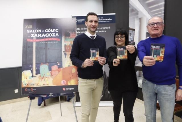 Más de 80 autores participan en el XVIII Salón del Cómic de Zaragoza.