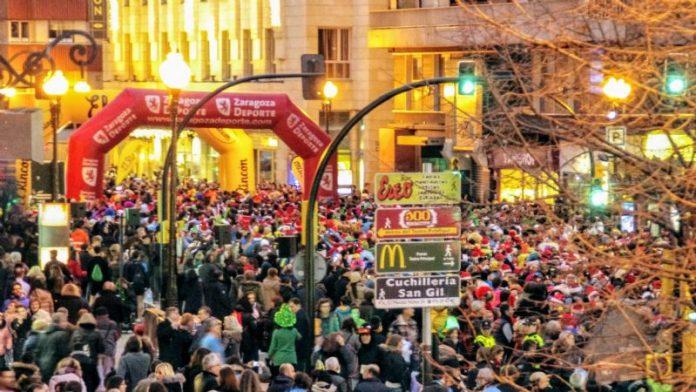 Los corredores de la San Silvestre, fuente de energía solidaria