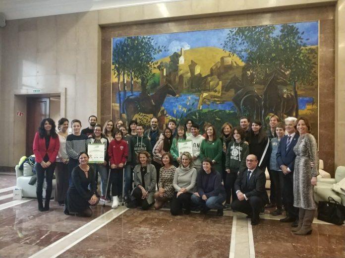 Colegios, profesores y alumnos de la provincia de Zaragoza han sido reconocidos con el certificado Stars por la DGT.