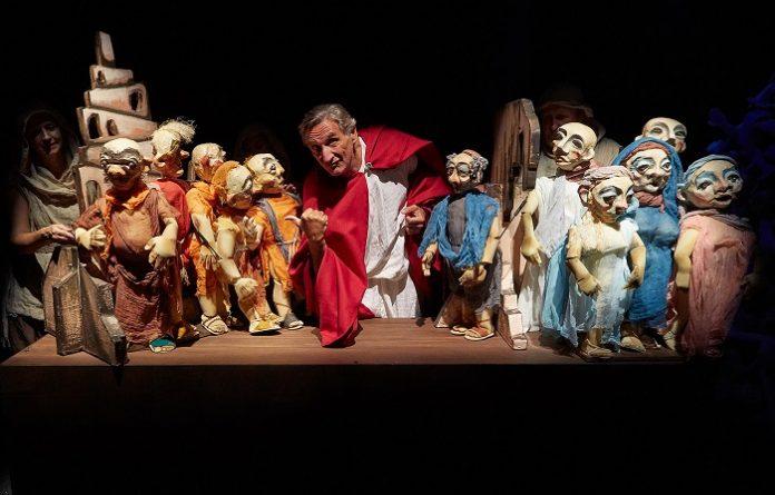 Teatro Arbolé presenta 'Caín de Saramago' en el Teatro Principal