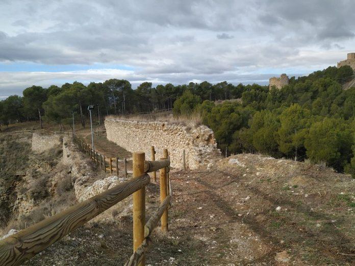 Calatayud estrena una red de senderos y miradores en el Castillo Mayor