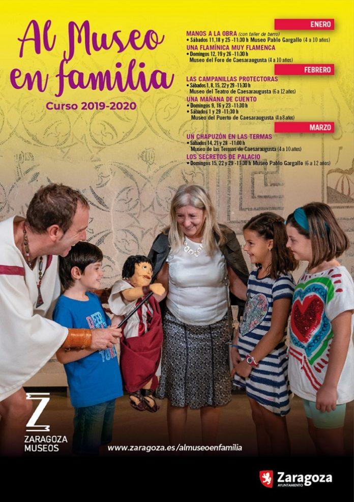 Seis actividades componen la nueva programación de Al museo en familia
