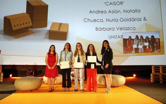 Premio mundial para un diseño de envases de cuatro alumnas de Unizar
