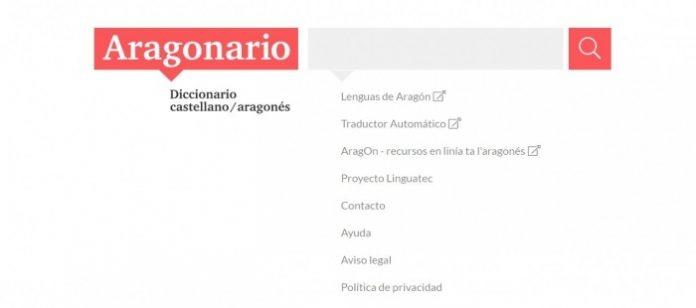Nueva edición del Aragonario el diccionario on line de la lengua aragonesa