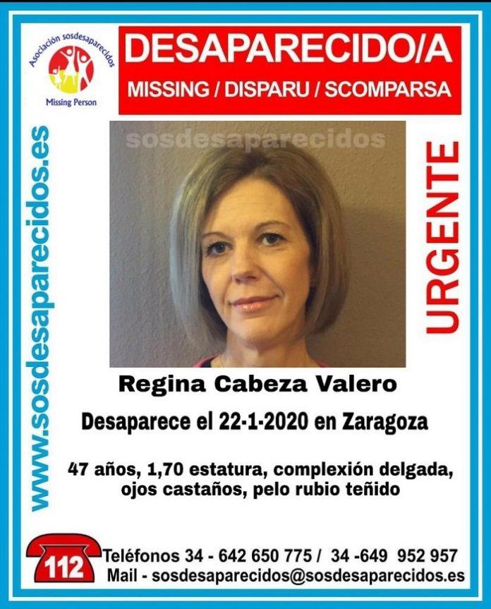 Piden colaboración para localizar a una mujer desaparecida en Zaragoza
