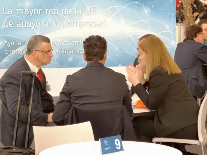 Empresas de 11 países participan en un encuentro en la Feria del Mueble