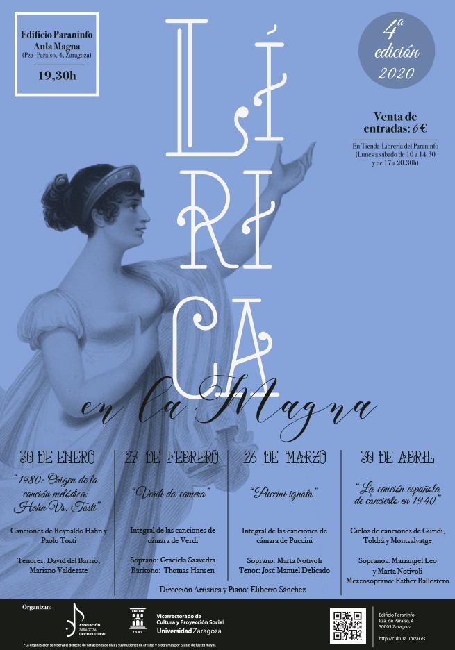 Cuatro conciertos conforman la IV edición de 'Lírica en la Magna'