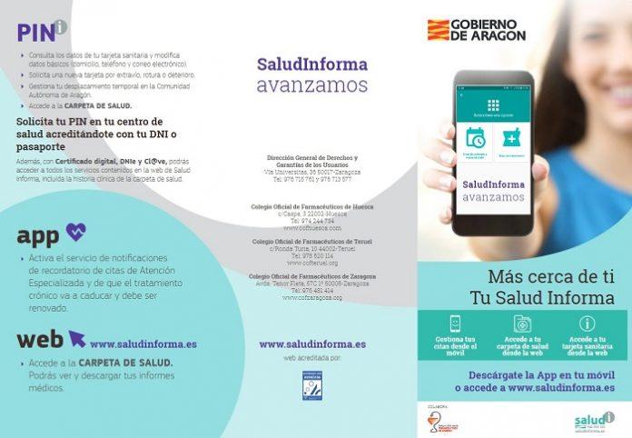 Nuevo método de acceso al portal de Salud de Aragón