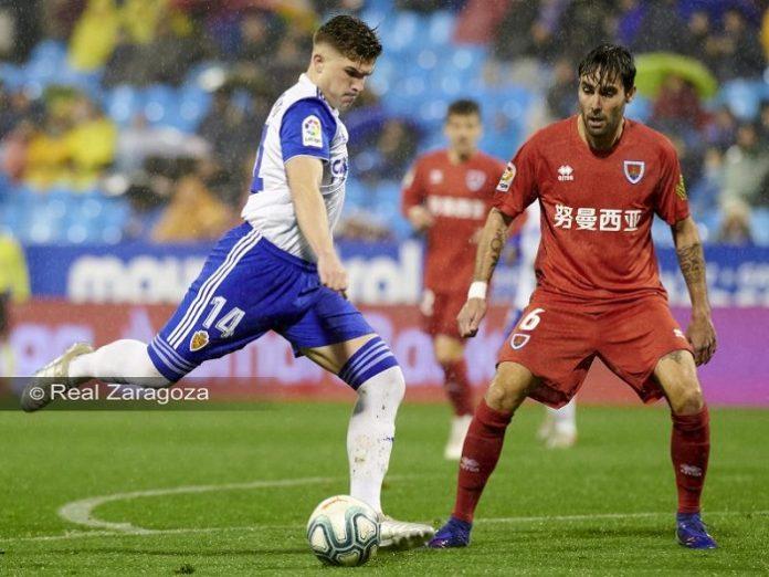 Valioso triunfo del Real Zaragoza contra el Numancia (1-0)