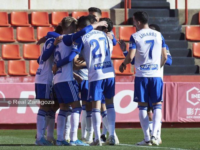 Real Zaragoza alcanza dieciseisavos de Copa del Rey al vencer al Nástic