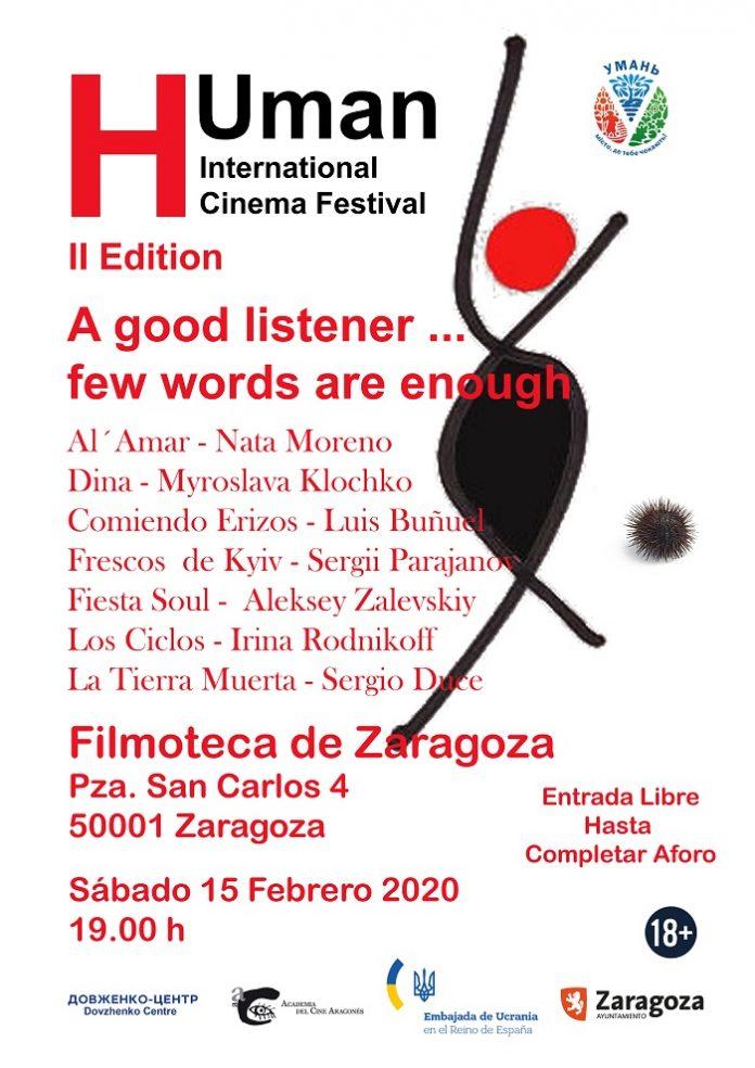 Siete cortos conforman el cartel del II Festival Internacional H-Uman