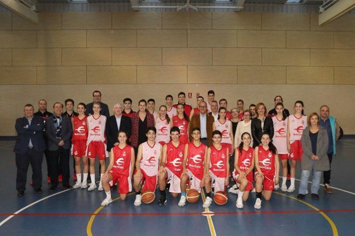 Cantera del Basket Zaragoza entrenará en el pabellón del CEIP Miraflores