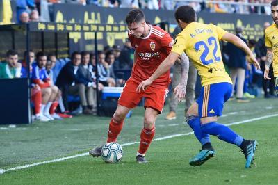 Un punto más para el Real Zaragoza en el Carranza (1-1)