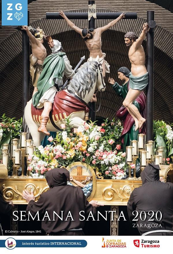Zaragoza desvela el cartel de su Semana Santa 2020