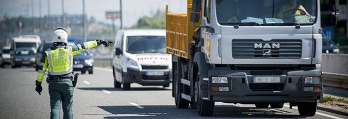 Campaña de vigilancia de camiones y autobuses en Zaragoza