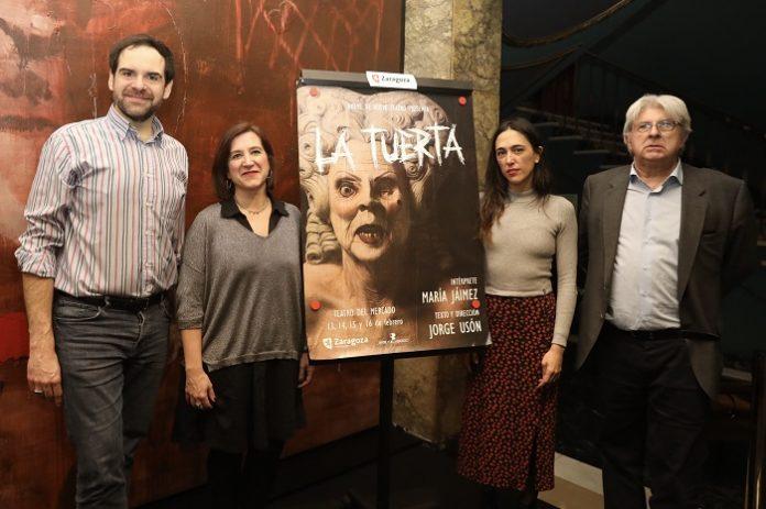 Teatro del Mercado estrena La tuerta dirijida por el zaragozano Jorge Usón