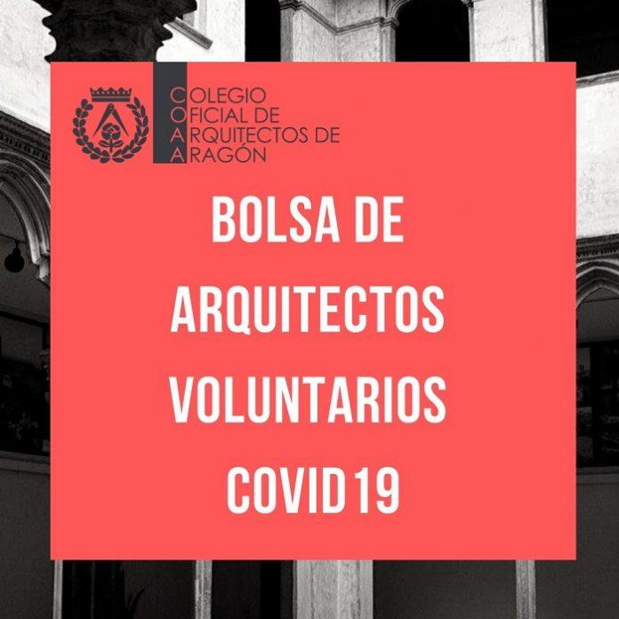 Arquitectos de Aragón crea una bolsa con 100 arquitectos voluntarios