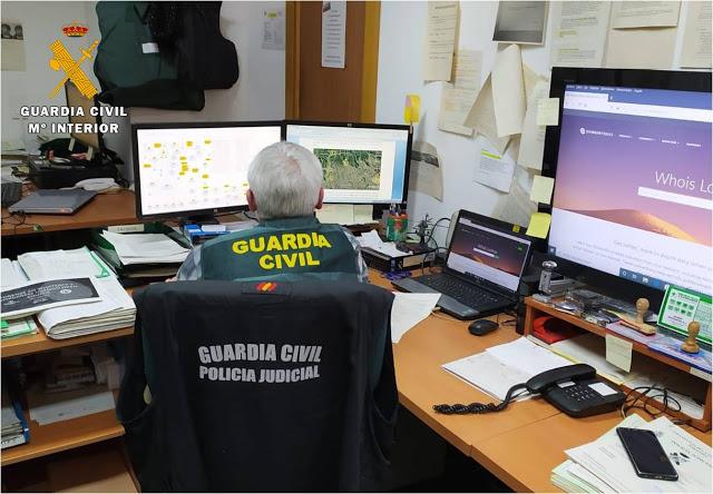 3 detenidos por estafar 100.000 € en compras por internet fraudulentas