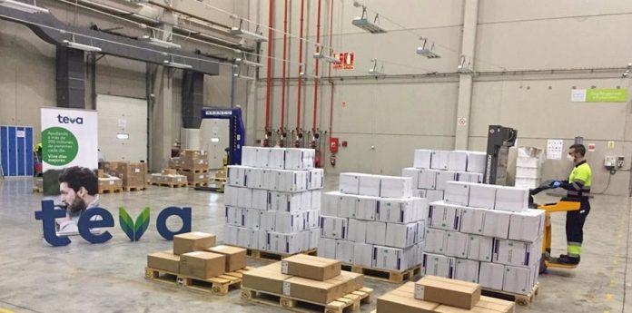 Farmacéutica distribuye desde Zaragoza un medicamento para el COVID-19