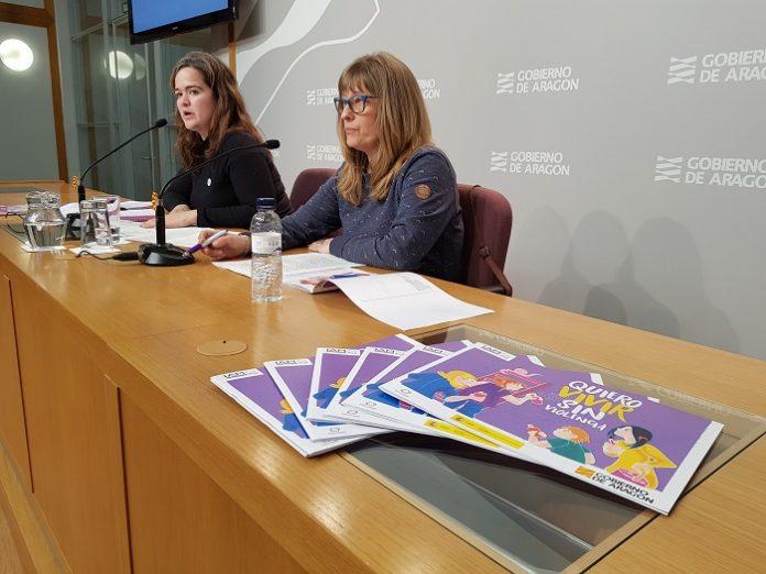 Aragón publica un cómic sobre la violencia de género por el 8M
