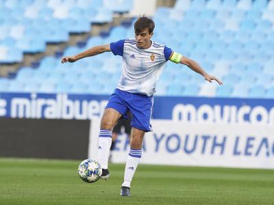 Francho Serrano renueva con el Real Zaragoza hasta 2024