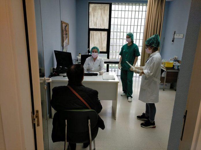 Prueba PCR en las primeras 24 horas a los casos sospechos de covid-19 en Aragón