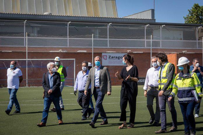 El campo de fútbol de Santa Isabel contará con nuevos vestuarios en julio