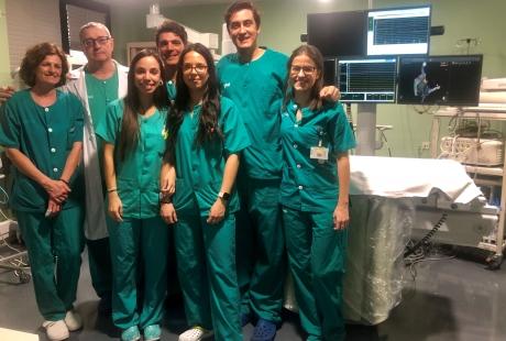 El Hospital Clínico inicia la implantación de marcapasos con estimulación fisiológica