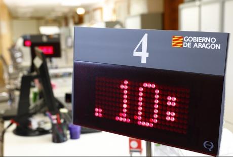 Aragón recupera la atención presencial en algunas oficinas del Registro