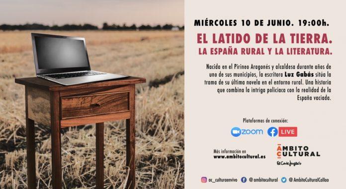 Charla on line en Ámbito Cultural de la escritora aragonesa Luz Gabás