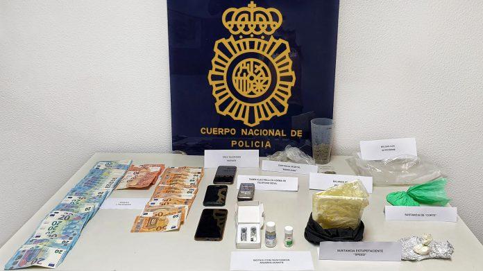Policía Nacional detiene dos personas por un delito contra la salud pública