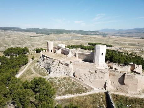 El castillo de Ayud vuelve a admitir visitas guiadas tras su restauración