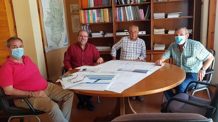 Impulsan el proyecto de acondicionamiento de la A-1102 en Castejón de Valdejasa