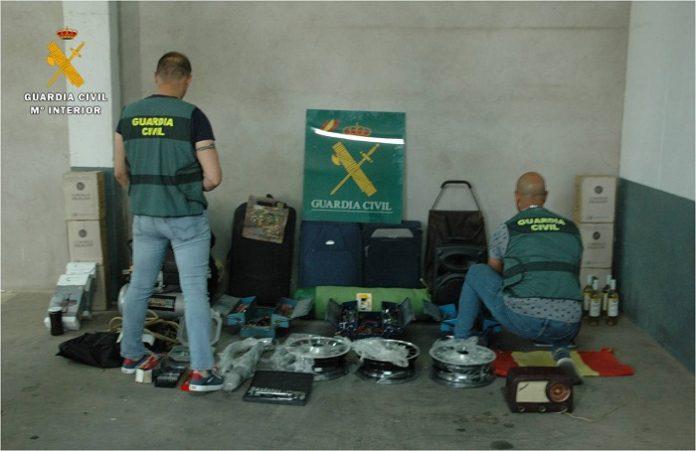 Detenidos los presuntos autores de cinco robos en La Almunia de Doña Godina