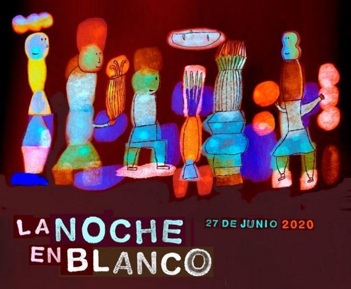 Zaragoza celebra con música, circo, danza y exposiciones su Noche en Blanco