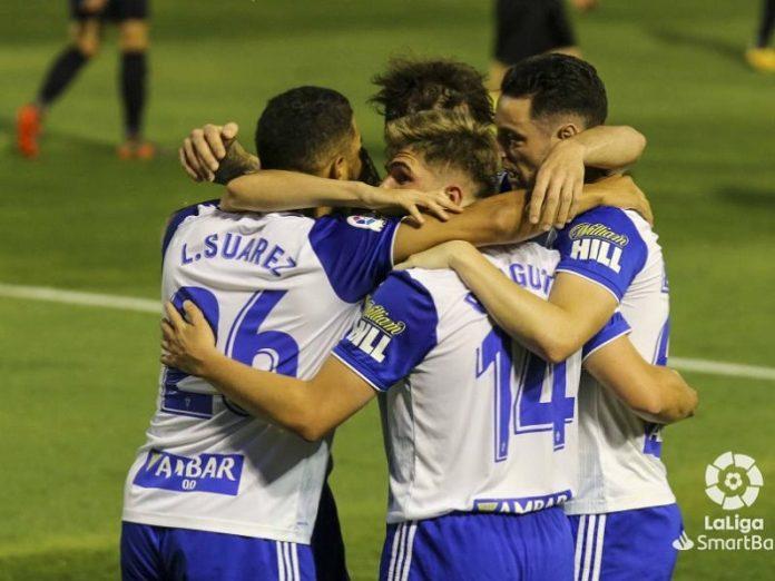 El Real Zaragoza conquista 3 puntos en el Francisco de la Hera