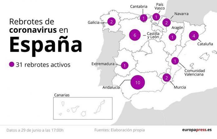 Huesca y Zaragoza contabilizan 15 nuevos casos de covid-19
