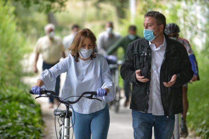 Nace en Zaragoza la Ciclorez, red de caminos saludables para el ciclismo