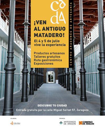 El Antiguo Matadero de Zaragoza albergará la novedosa Feria de Artesanos