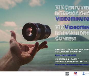 La Universidad de Zaragoza otorga los premios del XIX Certamen Internacional Videominuto 2020