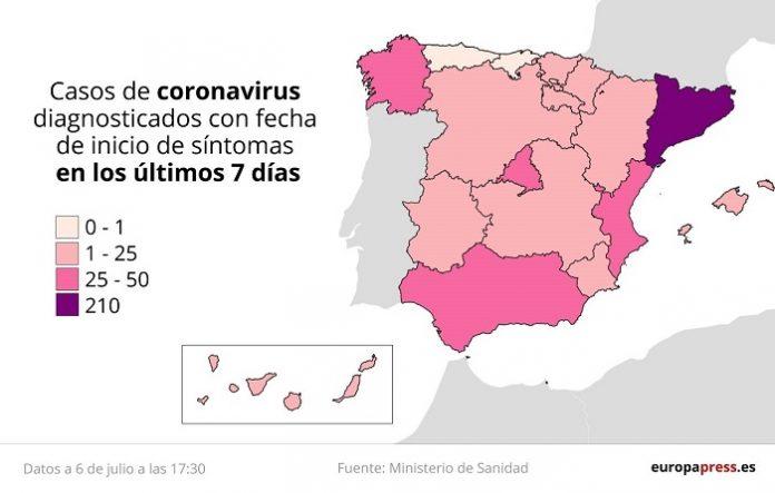 Aragón mantiene a raya sus dos brotes de covid-19