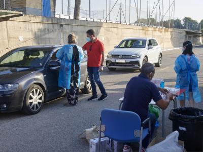 La plantilla del Real Zaragoza se somete a nuevas pruebas en la Ciudad Deportiva